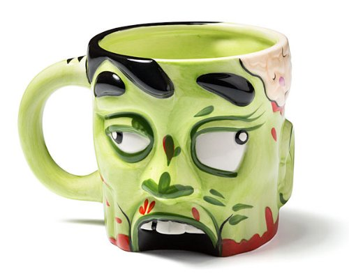 zombie head cookie jar - 7