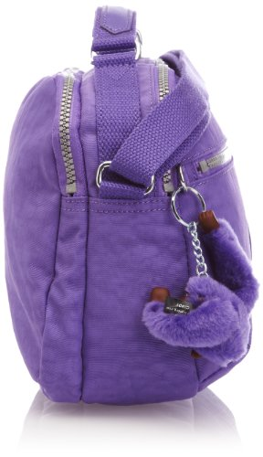 Bag Vivid Cross Women's Body Kipling Purple Yelinda Bw1pqwT
