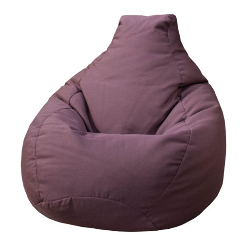 Gold Medal Bean Bags Sunbrella Outdoor/Indoor Weather Resistant Bean Bag, Fife Plum (Fife Plum)
