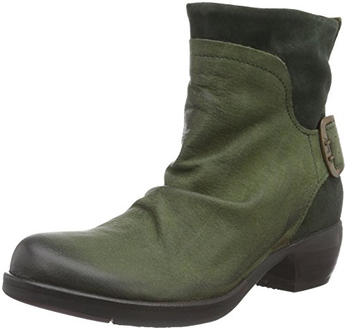 Fly London Women's Mid Calf Boots Boots Green (Bottlegreen 026) shopping online original outlet ebay sneakernews discount best prices recommend for sale JSGPiz8jpH