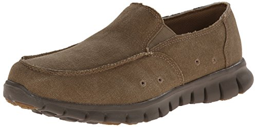 Propet Mens Mclean Canvas Slip-on Casual Scarpa In Legno