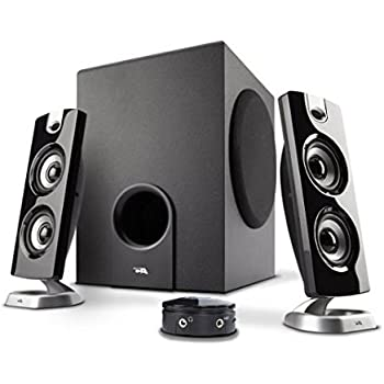 awesome computer speakers. cyber acoustics 2.1 computer speaker with subwoofer - best for music, movies, multimedia pc awesome speakers