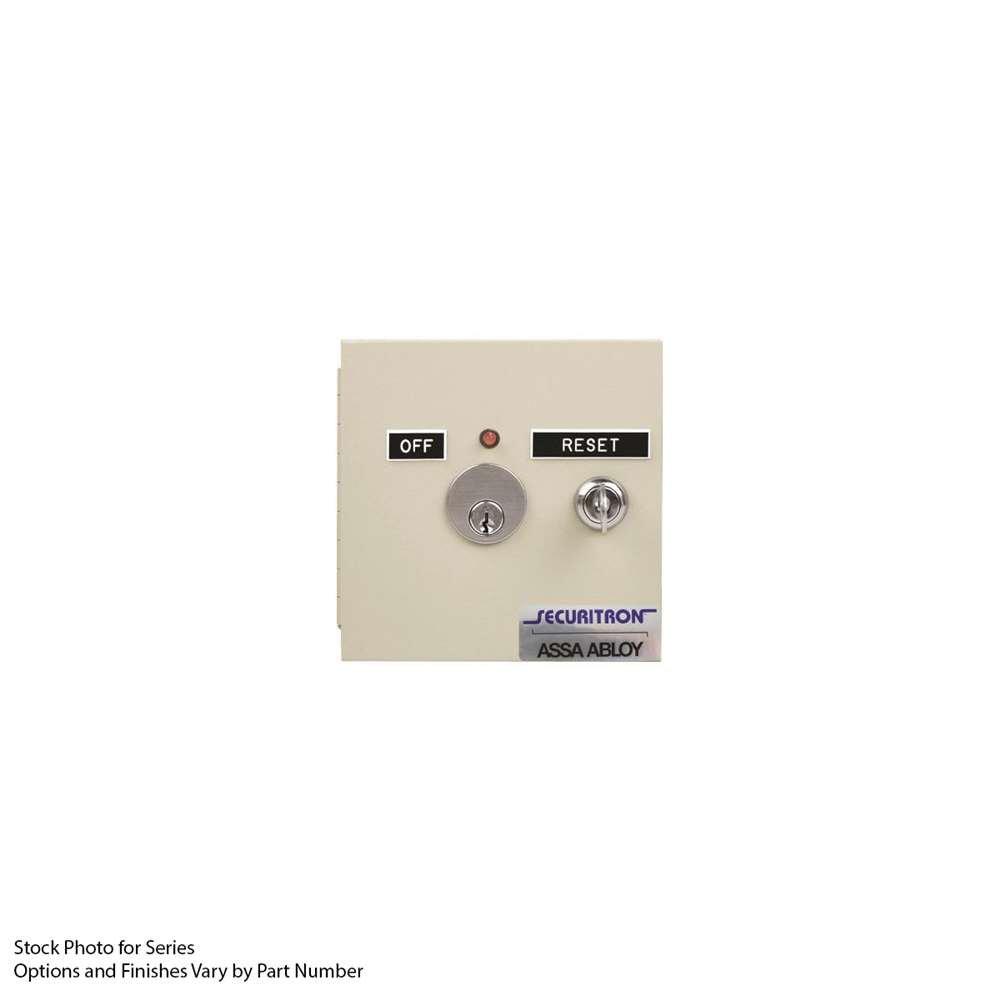 Securitron FAR-12 Fire Alarm Reset, 12 or 24V DC