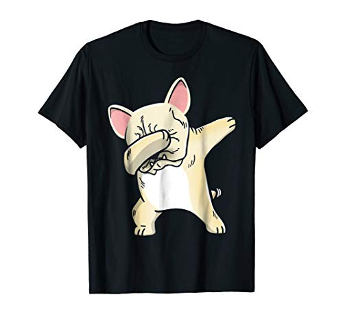 Frenchie Dabbing T-Shirt French Bulldog Kids Clothes]()