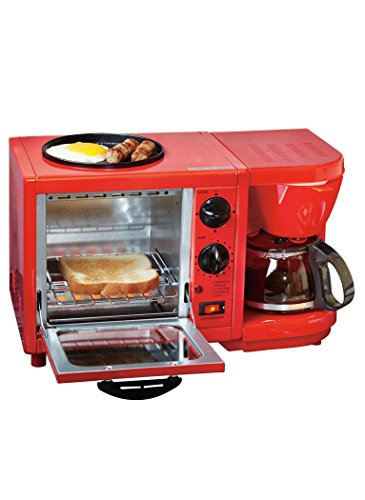 Elite Cuisine EBK Maxi-Matic 3-in-1 Multifunction Breakfast Center 41t7ZzqU8gL
