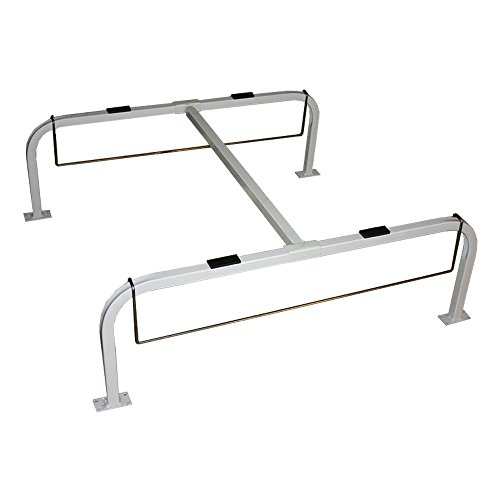 Quick-Sling QSTD2000 Light-Duty Quick Stand, 300 lb. Maximum Capacity, 14-Gauge Square Tubing, Drain Pan Hanger, Adjustable Length, Fixed Height and Width, 12'' Height, 36'' Width, 48'' Length, Steel by Quick-Sling