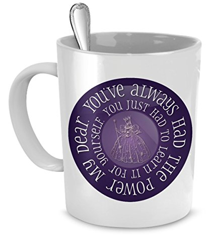 You've Always Had The Power 11 oz. Ceramic Coffee Mug - Unique Gift for Wizard of Oz Fans