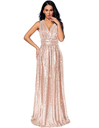 Gold Formal Gown - 4