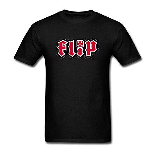 xiuluan-mens-flip-skateboards-logo-t-shirt-size-s-colorname-short-sleeve