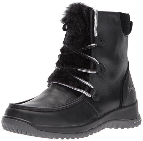 Jambu Women's Denali Waterproof Ankle Bootie, Black, 10 M US