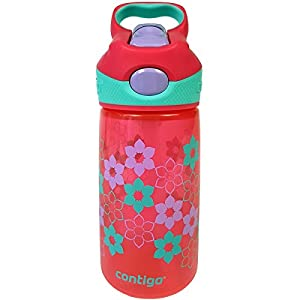Contigo 14 oz. Kid's Striker Autospout Water Bottle - Cherry Blossom Wisteria
