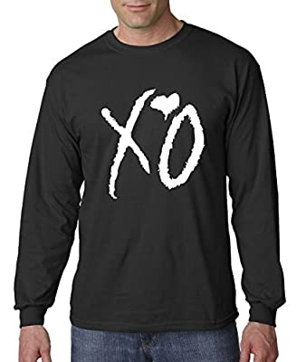 New Way 763 - Unisex Long-Sleeve T-Shirt XO The Weeknd Heart Weekend Whiteout