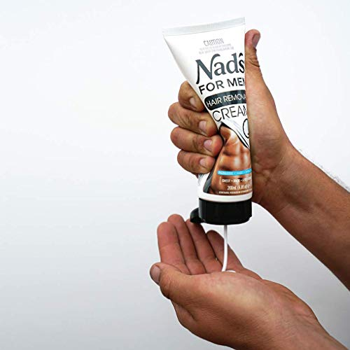 Nad's for Men Hair Removal Cream - Painless Hair Removal For Men - Soothing Depilatory Cream For Unwanted Coarse Male… 2