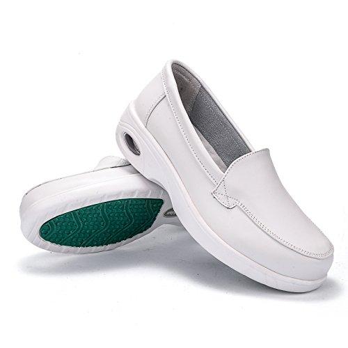 Talon Printemps Chaussures Et 5Cm Unique 3 Les À De Femmes eight KHSKX Antipatinage L'Aise Pente Hiver Blanche Chaussures Automne Thirty P5wRx6Zzq