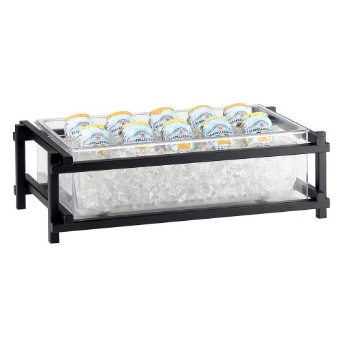 Cal-Mil 1135-12-13 One by One Ice Housing, 7.25'' Height, 23.5'' Width, 15.5'' Length, Black by Cal Mil