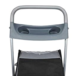 Guardian Gear Traveler Stroller for Dogs and Cats, Slate