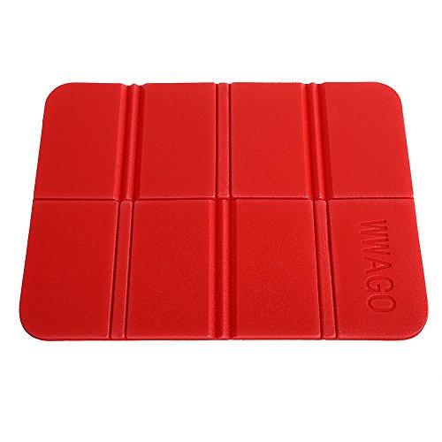 CN-Culturegg Outdoor Folding Camping Cushion Waterproof Sitting Mat,RED