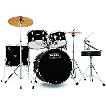 Pearl Rs584cc91 Roadshow 4 Piece Drum Set Wine Red