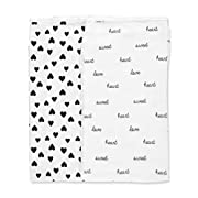 Carter's Baby Girls' 2-Pk. Babysoft Swaddle Blankets None