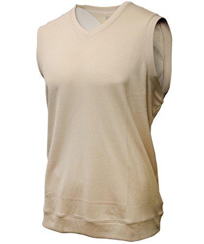 Performance V-neck Vest Sweater (Adidas Performance Mens Golf Sweater Vest L Ercu)