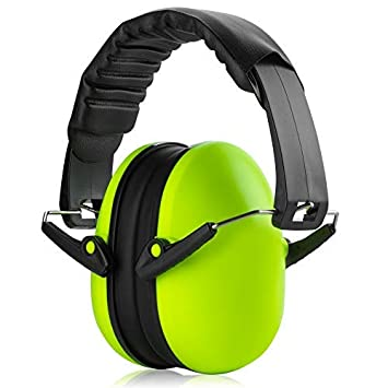 Amazon Com Hearing Protection Ear Muffs Lime Green Hearing