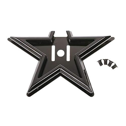 Two Tone Brass Twist - DIY Magnetic Clasp Turn Lock Twist Locks Metal Hardware for Handbag Bag Purse (Color - Black)