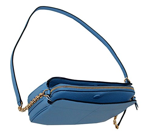 Ivy Crossbody Montego BURCH TORY Women's Bag Blue Leather 7qtxp5