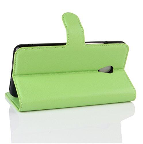 Funda MEIZU M5S ,Manyip Caja del teléfono del cuero,Protector de Pantalla de Slim Case Estilo Billetera con Ranuras para Tarjetas, Soporte Plegable, Cierre Magnético F