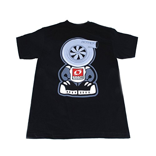 Black, XXX-Large Kraftwerks Boost Headz T-Shirt