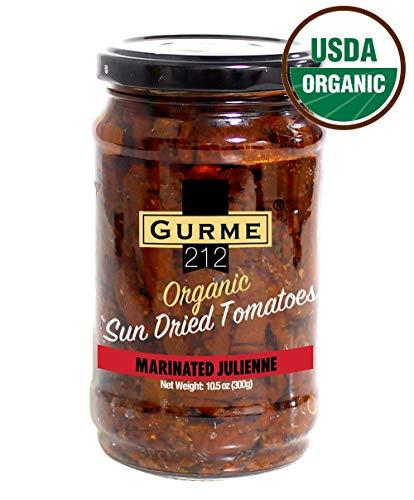Gurme212 Organic Marinated Sun-dried Tomatoes (10.5 oz Julienne ()