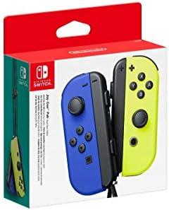 SW Nintendo Switch JOY-CON NEON YELLOW & BLUE 3