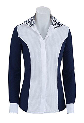 RJ Classics Ladies Prestige Show Shirt (Paige/Navy, M)