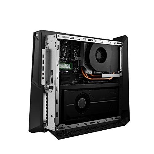 Asus ROG Huracan G21 Compact Desktop Computer, Intel Core i7-8700, GeForce GTX 1080, 16GB 2666MHz RAM, 512GB SSD + 1TB HDD, 802.11AC Wi-Fi, DVD Drive, Windows 10, G21CN-DS781