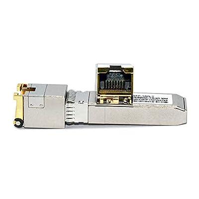 Jeirdus 10G SFP+ Module 10 Gigabit Transceiver