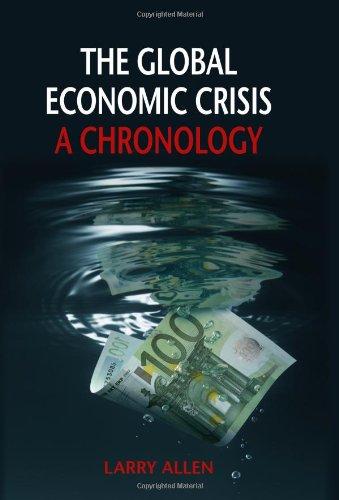 The Global Economic Crisis: A Chronology