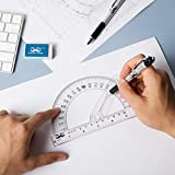 Mr. Pen- Protractor, 6 Inch Protractor with