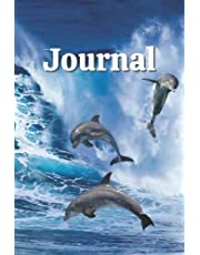Dolphin Themed Lined Journal: For on the go, Business, School or Personal Use. 6 x 9 inch, 120 pages