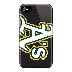 Awesome JeH8018xXSw Richardcustom2008 Defender Tpu Hard Cases Covers For Iphone 6- Oakland Athletics