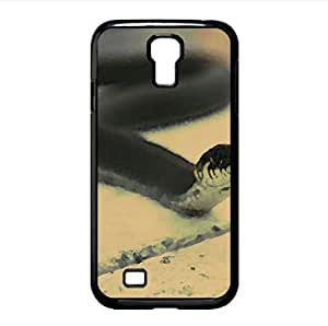 Black Snake Watercolor style Cover Samsung Galaxy S4 I9500 Case (Reptiles & Frogs Watercolor style Cover Samsung Galaxy S4 I9500 Case)