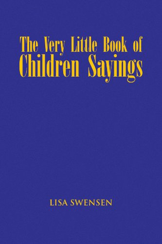 VERY LITTLE BOOK OF CHILDREN SAYINGS, THE