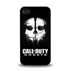 iPhone 4 4S case protective skin cover with Call of Duty Ghosts cool poster design #16