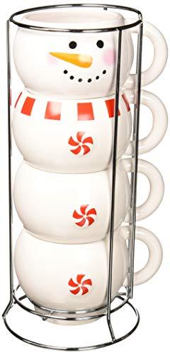 DEI 80082 Ceramic Mug, 7.0 x 6.5 x 13.25, White