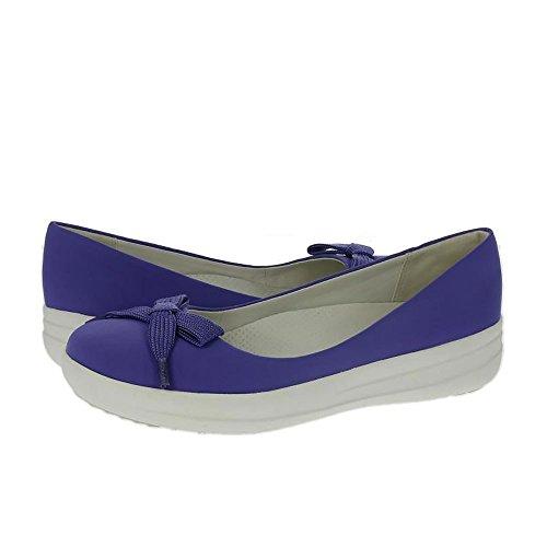 FitFlop Encaje Arco Adoraballerina Zapatos Lavanda Azul Azul Lavanda