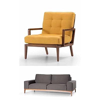 Secret Sofa 2 Seater Grey - Linen