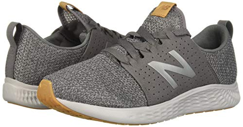 New Balance Men's Fresh Foam Sport V1 Running Shoe, Castlerock/Team Away Grey, 9.5 M US