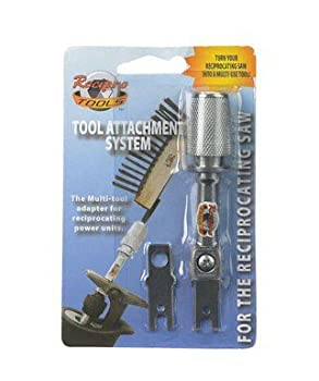 Reciprotools Reciprocating Saw Tool Adapter Carded