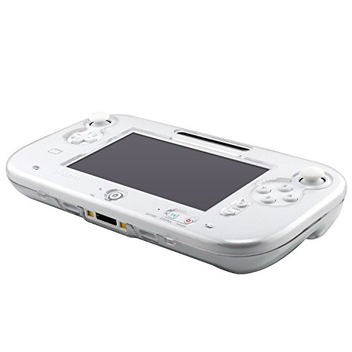 Clear Crystal Hard Skin Case Cover for Nintendo Wii U Gamepad Remote Controller
