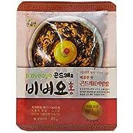 [Sanchaeman] Bibyeoyo Bibimbap Mix Sauce with Gondre(Cirsium setidens) 80g, Korean homemade meal taste, Healthy & Delicious (Spicy Taste)