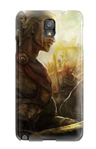 DanRobertse Galaxy Note 3 Hybrid Tpu Case Cover Silicon Bumper Dragons-crown Anime Action Rpg Fantasy Family Medieval Fighting Dragons Crown