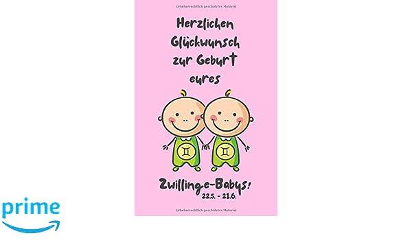 Herzlichen Glückwunsch Zur Geburt Eures Zwillinge Babys